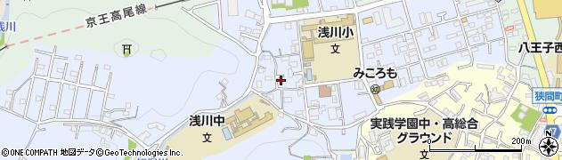 東京都八王子市初沢町1338周辺の地図