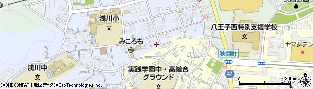 東京都八王子市初沢町1308周辺の地図