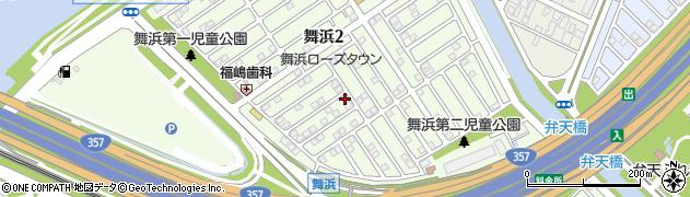 千葉県浦安市舞浜周辺の地図
