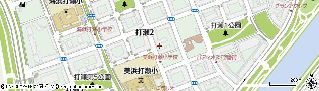 千葉県千葉市美浜区打瀬周辺の地図