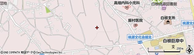 山梨県南アルプス市飯野周辺の地図