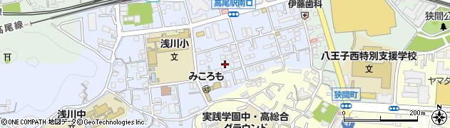 東京都八王子市初沢町1307周辺の地図