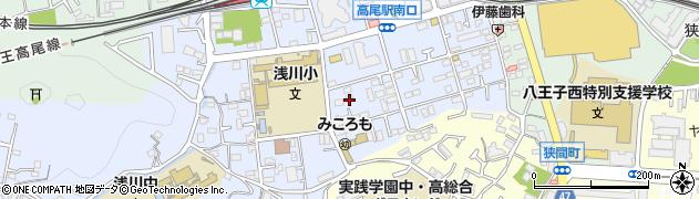 東京都八王子市初沢町1304周辺の地図
