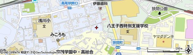東京都八王子市初沢町1289周辺の地図