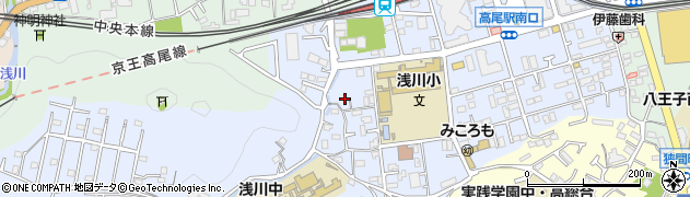 東京都八王子市初沢町1358周辺の地図