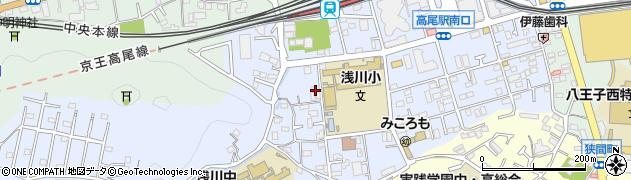 東京都八王子市初沢町1342周辺の地図