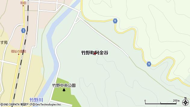 〒669-6214 兵庫県豊岡市竹野町阿金谷の地図