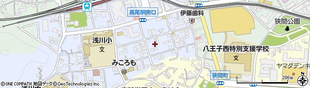 東京都八王子市初沢町1294周辺の地図