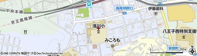 東京都八王子市初沢町1335周辺の地図