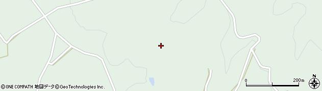 岐阜県中津川市付知町(鳥屋脇)周辺の地図