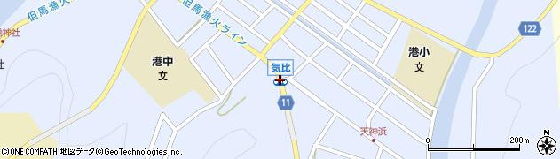 気比周辺の地図