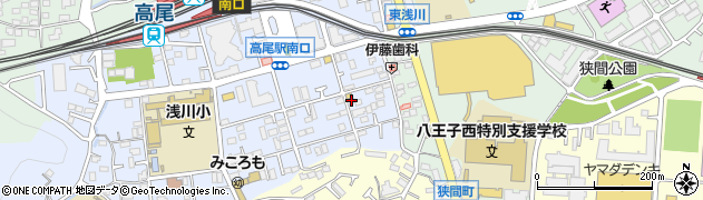 東京都八王子市初沢町1282周辺の地図