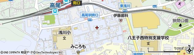 東京都八王子市初沢町1296周辺の地図