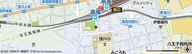 東京都八王子市初沢町1350周辺の地図