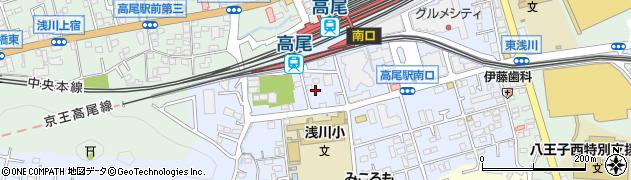 東京都八王子市初沢町1349周辺の地図