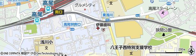 東京都八王子市初沢町1277周辺の地図