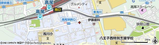 東京都八王子市初沢町1298周辺の地図