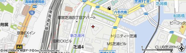 キャピタルマークタワー周辺の地図
