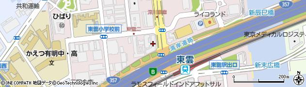 東京ベイ・リベロシティ周辺の地図