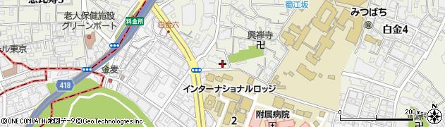 白金第一マンションズ周辺の地図