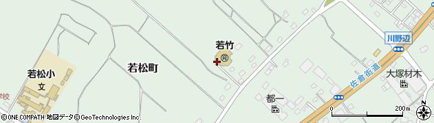 千葉県千葉市若葉区若松町周辺の地図