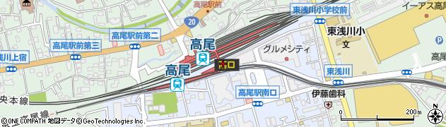 東京都八王子市初沢町1227周辺の地図