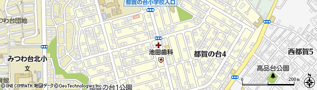 千葉県千葉市若葉区都賀の台周辺の地図