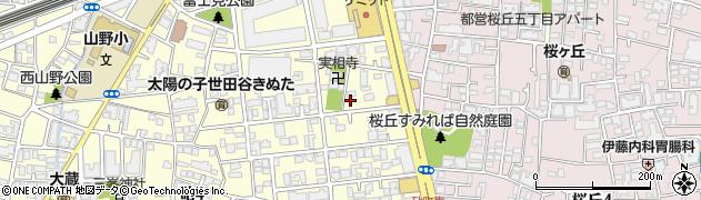 東京都世田谷区砧2丁目周辺の地図