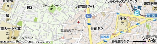 東京都世田谷区世田谷周辺の地図