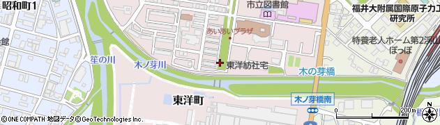 福井県敦賀市東洋町周辺の地図