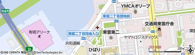 都営東雲二丁目アパート周辺の地図