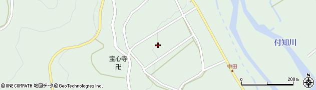 岐阜県中津川市付知町(寺山)周辺の地図