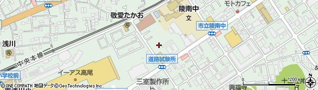 東京都八王子市東浅川町周辺の地図