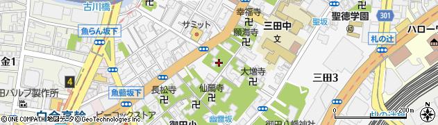 明王院周辺の地図