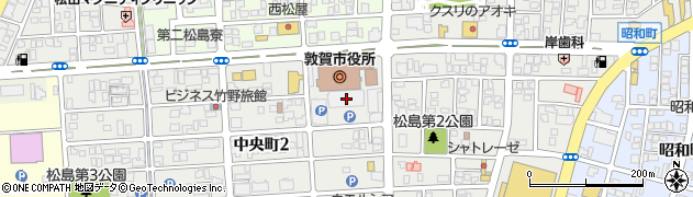 福井県敦賀市周辺の地図