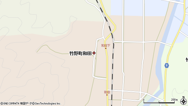 〒669-6211 兵庫県豊岡市竹野町和田の地図