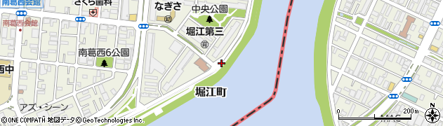 東京都江戸川区堀江町周辺の地図