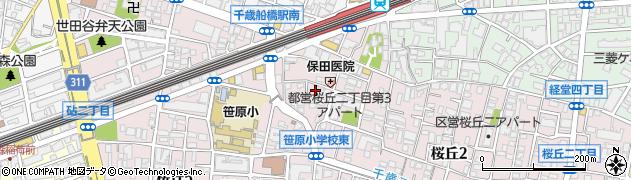 東京都世田谷区桜丘周辺の地図