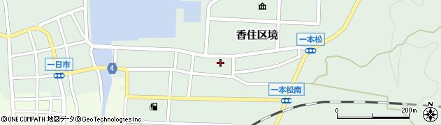 境区会館周辺の地図