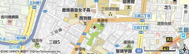 大松寺周辺の地図