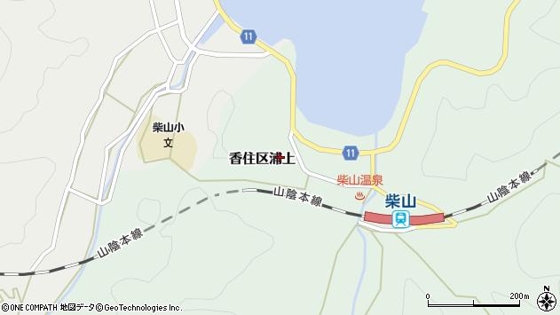 〒669-6431 兵庫県美方郡香美町香住区浦上の地図