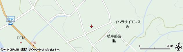岐阜県中津川市付知町(安楽満)周辺の地図