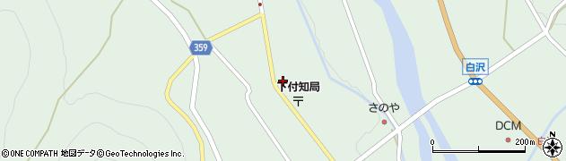 岐阜県中津川市付知町(秋津)周辺の地図