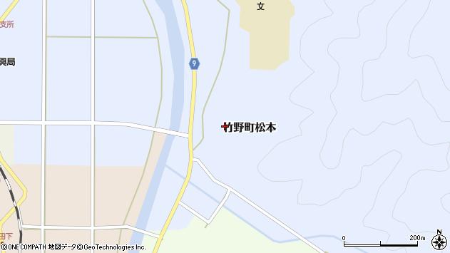 〒669-6212 兵庫県豊岡市竹野町松本の地図