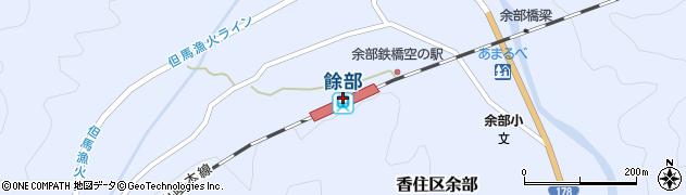 兵庫県美方郡香美町周辺の地図