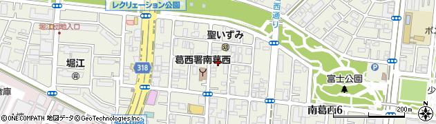 東京都江戸川区南葛西周辺の地図
