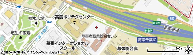 千葉県千葉市美浜区若葉周辺の地図