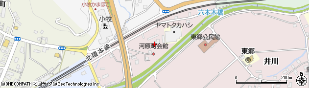 福井県敦賀市河原町周辺の地図
