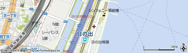 東京都港区海岸周辺の地図