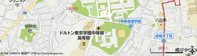 東京都調布市入間町周辺の地図